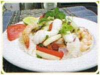 PJ's Tour G6 - Thai cooking Seafood salad